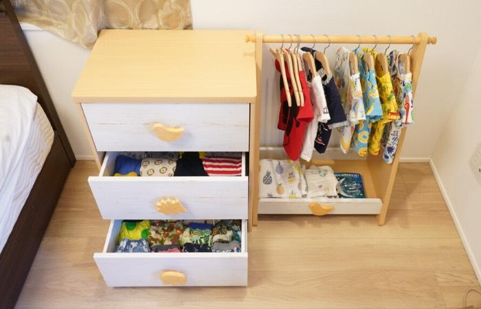 モンテッソーリな部屋作りにおすすめな家具の例