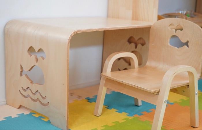おうちモンテッソーリにおすすめの幼児机と椅子5選