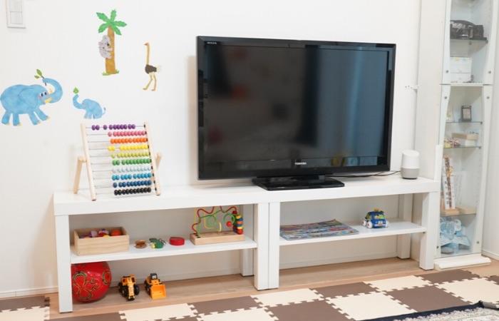 おうちモンテッソーリにおすすめの教具棚② IKEAのLACK