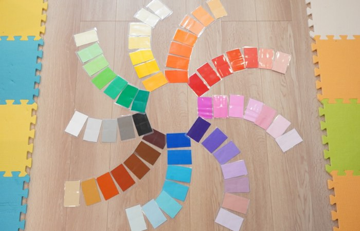 色板のおしごとの取り組み方
