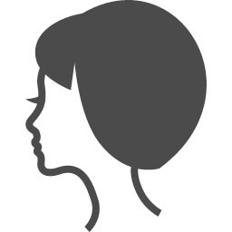 女性のシルエット1
