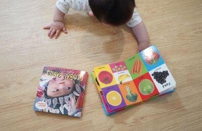 0歳、1歳、2歳向けモンテッソーリの写真絵本5選(英語)